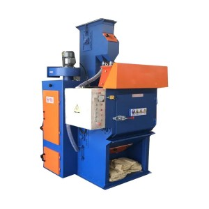 Factory wholesale Table Shot Blasting Machine - Rubber Belt Shot Blasting Machine – Ding Tai