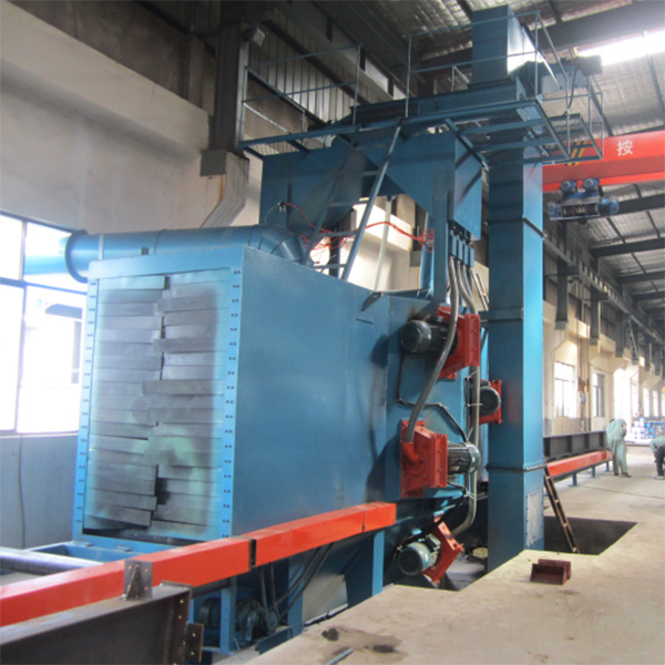 Factory Cheap Hot Blasting Cabinet – Through Type Shot Blasting Machine – Ding Tai detail pictures