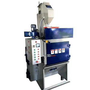 china wholesale Roller Through Shot Blasting Factory - Q32 series Crawler shot blasting machine – Ding Tai