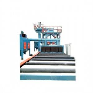 Multiple Shot Blasting Machines for Steel Bars