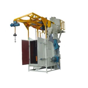 Best-Selling Through Type Shot Blasting Machine - Hook Type Shot Blasting Machine – Ding Tai