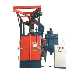 china wholesale Roller Shot Blasting - Q376 steel industrial Hook type shot blasting machine price – Ding Tai