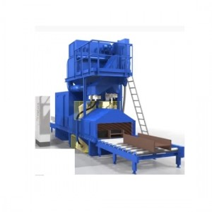 Q69 Series Steel Plate and Profile Section Steel Shot Blasting Machine