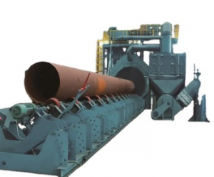 Shot Blasting Machine for Steel Pipe Outer Wall Cleaning from china