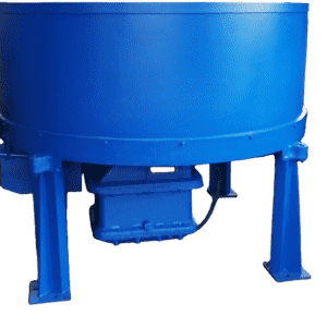 Roller type sand mixer for foundry and casting factory