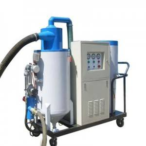 Automatic recovery dust free vacuum mobile sand blasting sandblaster machine for sale