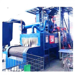 Steel Belt Shot Blasting Machine Used for Rust Removing