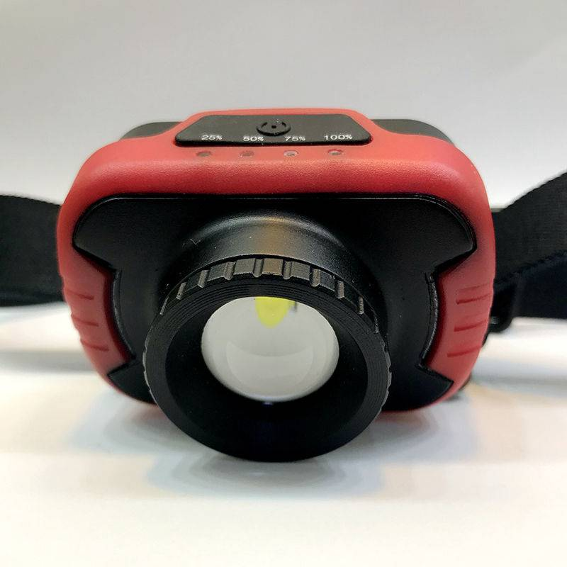 T0211 LED Rechargeable Zoom-able Headlamp Featured Image