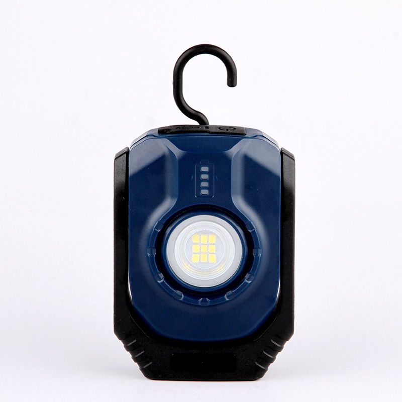 Factory wholesale LED Rotatable Led Work Light -  K0112 Rechargeable pocketable povit work light with magnet and hook – Dlight Star