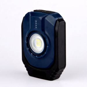 K0112 Rechargeable pocketable povit work light with magnet and hook