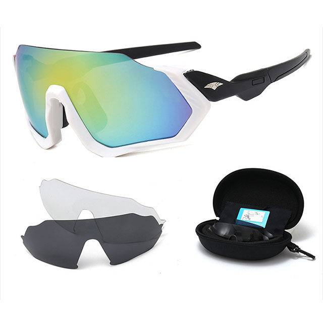sunglasses set Bicycle Outdoor Sports Glasses Set with 3pcs lenses Featured Image