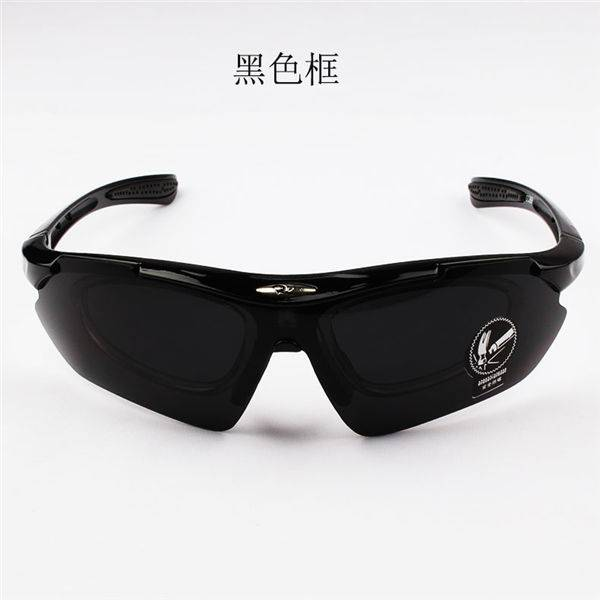 High Performance Torege Polarized Sports Sunglasses Tr90 - DLX0089 Myopic Sports Outdoor Sunglasses – D&L detail pictures