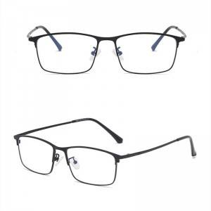 metal frame reading Anti Blue Light glasses Unisex Glasses