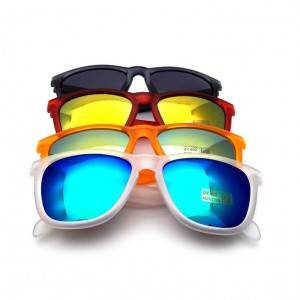 Mirror Lens Custom Sunglasses