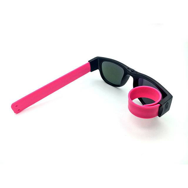 factory low price Titanium Blue Light Glasses - DLC9022 Slap Wristband Sunglasses – D&L