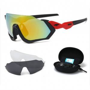 sunglasses set Bicycle Outdoor Sports Glasses Set with 3pcs lenses