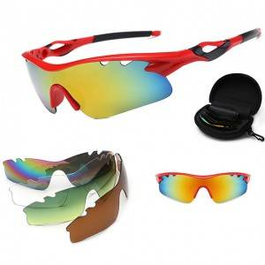 Low price for Extreme Sports Sunglasses - DLX9302 set Outdoor Windproof Sunglasses Set – D...