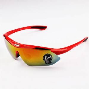 Professional Design Big Square Sunglasses - DLX0089 Myopic Sports Outdoor Sunglasses – D&a...