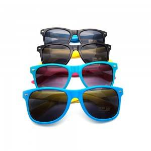 2020 Latest Design Wholesale Custom Logo Sunglasses - DLC9001 Mirror Lens Custom Sunglasses R...