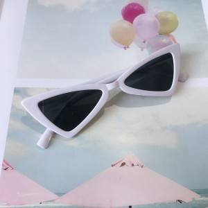 Newest fashion plastic frame kids sunglasses