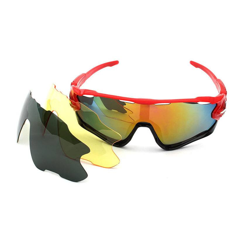 Chinese wholesale Custom Sport Sunglasses - 9270 Men's Polarized Outdoor Bicycle Sunglasses with 3pcs lenses – D&L Featured Image