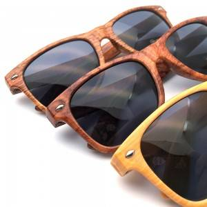 100% Original Fashion Eyewear - High quality Wood Grain Sunglasses – D&L