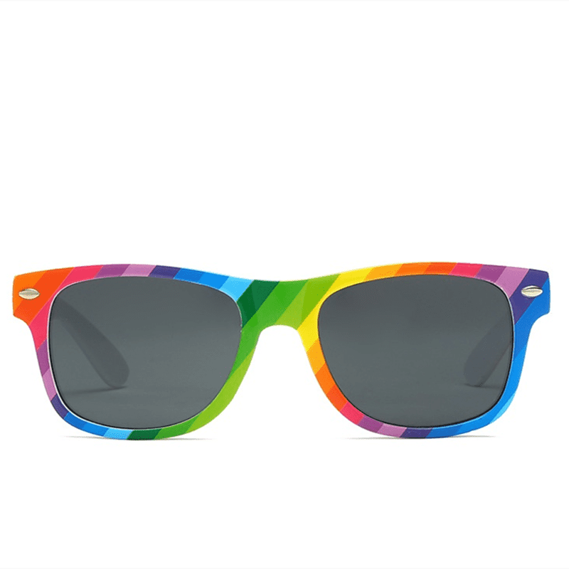 China Factory for Lenskart Sports Glasses - DLC9001RB Color Run Sunglasses – D&L detail pictures