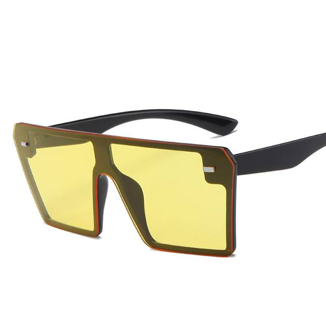Special Price for Wholesale Big Sunglasses - DLL2185 Oversized Square Frame Fashion Sunglasses – D&L