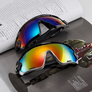 New Fashion Design for Universal Clip On Sunglasses - 9270  Men's Riding Outdoor Sports Gl...