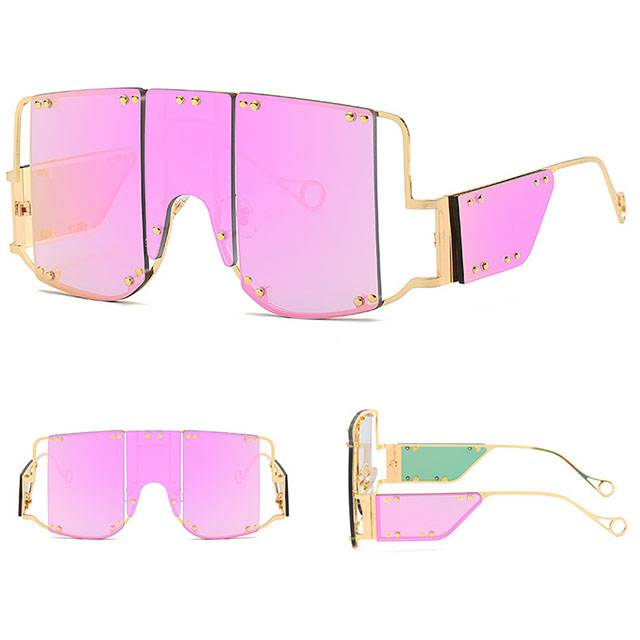DLL902 Metal Frame Fashion Sunglasses Featured Image