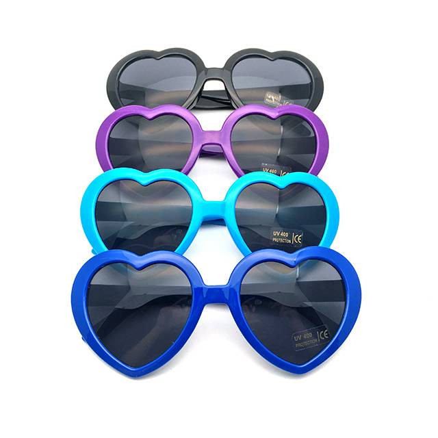 factory low price Pink Sport Sunglasses -  DLC9018 Heart Shape Custom Sunglasses – D&L