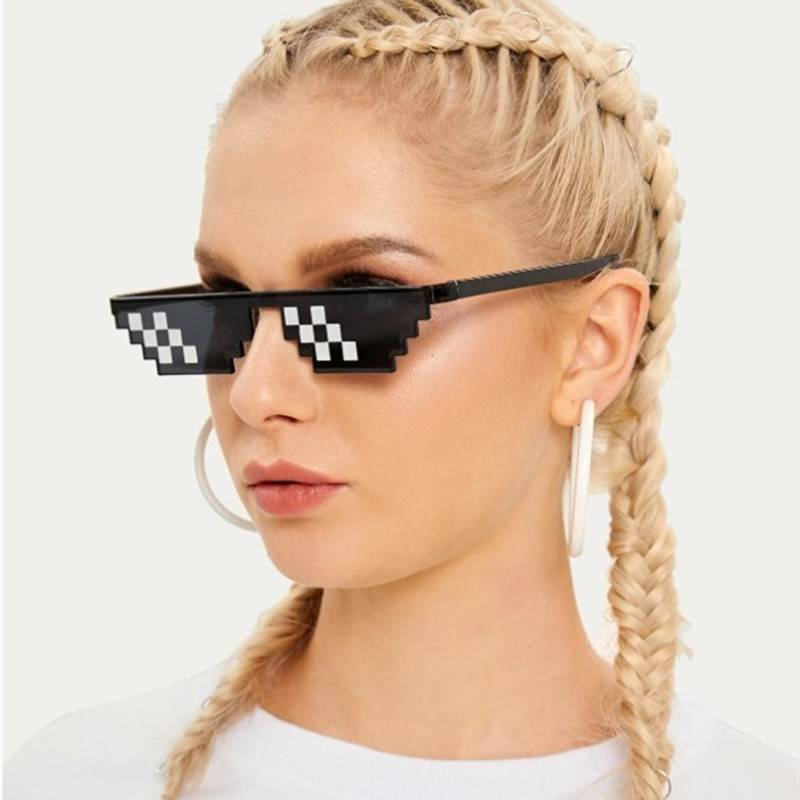 Top Suppliers Womens Sport Sunglasses For Small Faces - DLC9006 Pixel Sunglasses – D&L