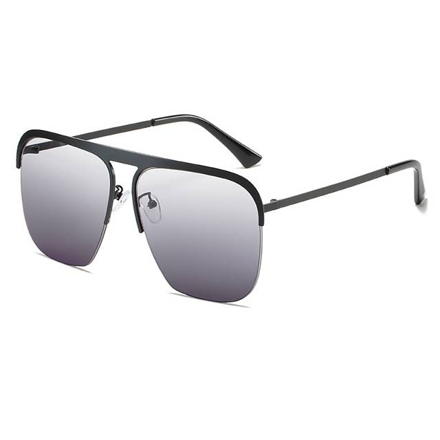 100% Original Sport Sunglasses Canada - DLL1915 Classic Large Frame sunglasses – D&L detail pictures