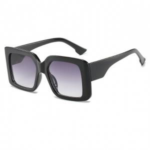 Oversized Square women fashion sun glasses