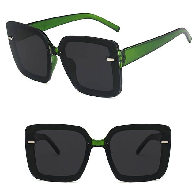 OEM Supply Sport Spectacles With Power - DLL6048 Fashion Large Square Sunglasses – D&L