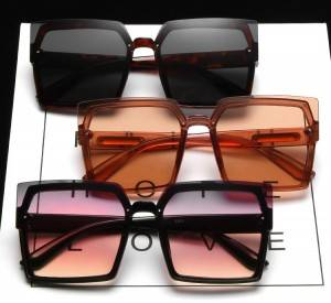Luxury Oversized Square Unisex Sunglasses