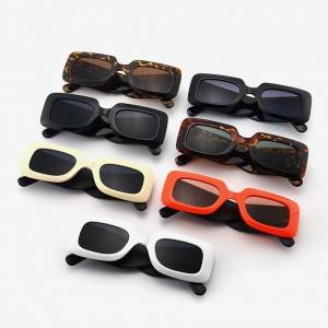 DL Glasses Gafas de sol Plastic Square Large frame Wide-legs Women Fashion Sunglasses