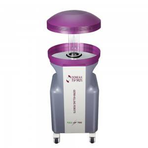 New model intelligent autonomous UVC automatic uv disinfection robots