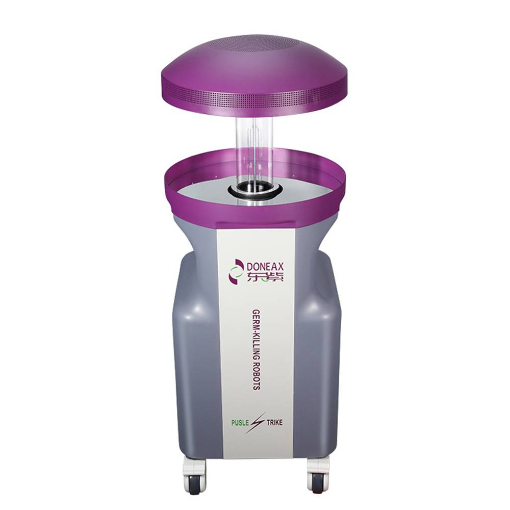 Factory Free sample Uv Robot Disinfection - New model intelligent autonomous UVC automatic uv disinfection robots – doneax
