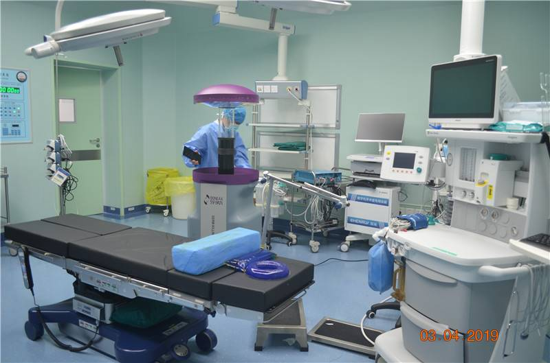 Study on the application of | pulse ultraviolet disinfection robot in isolation ward of hospital