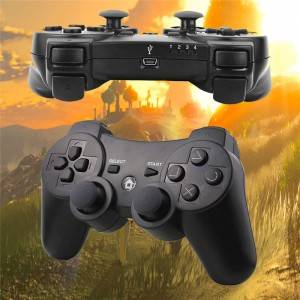 Wholesale Price China Wireless Controller For Ps3 - PS3 Controller Controller Replacement for PS3 Controller, Wireless Controller with Upgraded Joystick Compatible with Sony Playstation 3 with Cha...