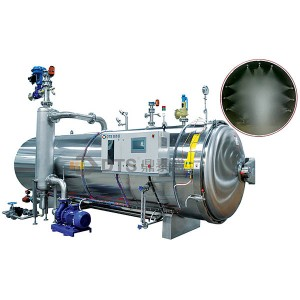 Water spray sterilization Retort