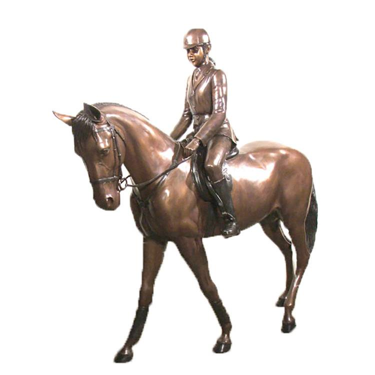 Large outdoor life size  antique statue bronze running horse sculpture for sale