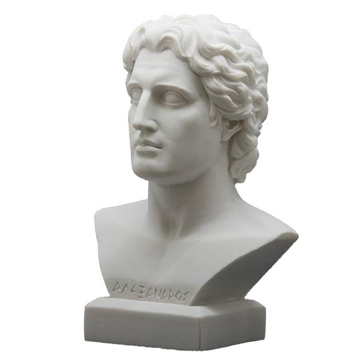 Indoor decoration greek head sculpture marble bust