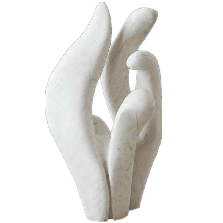 Wholesale Stone Statue With Big Nose - 100% hand carved decorative sculpture modern marble abstract statue  for sale – Atisan Works