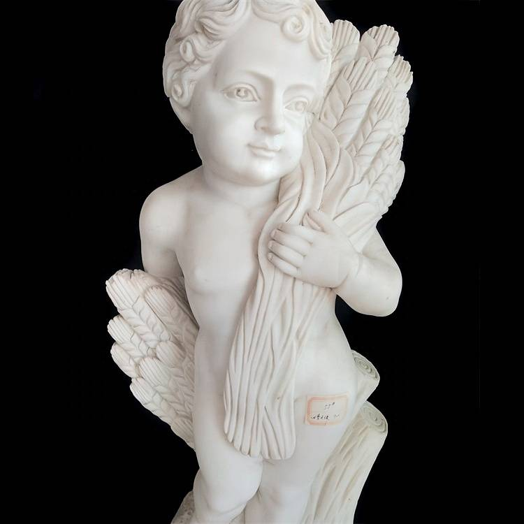 High Performance Lighted Angel Statue - Chinese Outdoor Life Size Garden Decorative  Marble  Statue – Atisan Works