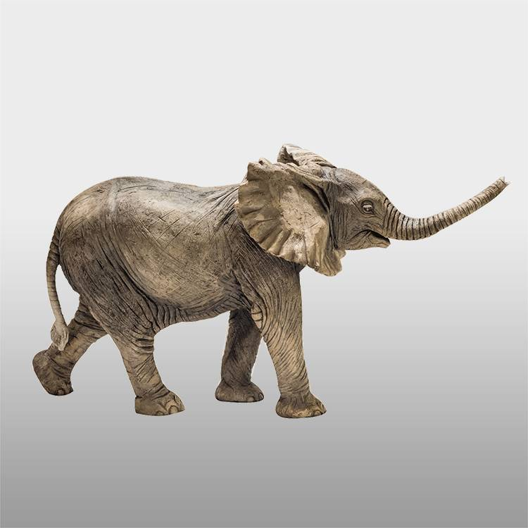 Wholesale Dealers of Augustus Bronze Statue - Outdoor custom size copper elephant statues for sale india – Atisan Works