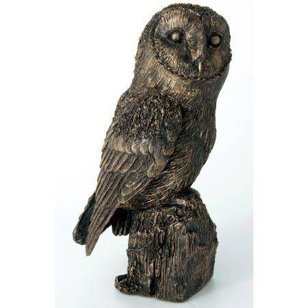 Renewable Design for Small Bronze Sculptures - Outdoor large park decoration modern antique bronze sculpture owl for sale – Atisan Works