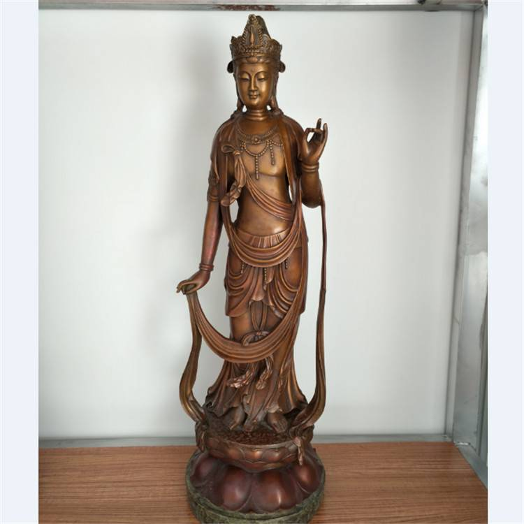 Special Price for Bronze Animal Statues - Decorative Manufacture Antique Bronze laughing buddha statues – Atisan Works