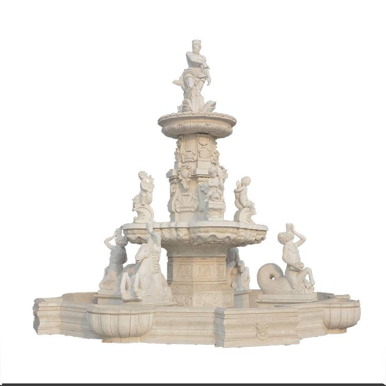 Hand carved ornamental wall fountains arabic style for sale